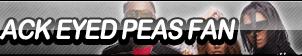Black Eyed Peas Fan Button by ButtonsMaker