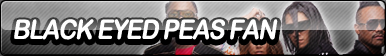 Black Eyed Peas Fan Button
