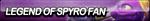 Legend of Spyro Fan Button by ButtonsMaker