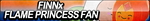 Finn x Flame Princess Fan Button by ButtonsMaker