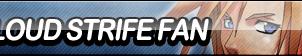 Cloud Strife Fan Button by ButtonsMaker
