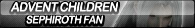 Advent Children: Sephiroth Fan Button