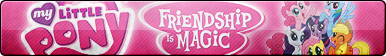 MLP: Friendship is Magic Fan Button (Edited)