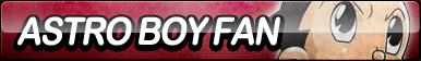 Astro Boy Fan Button by ButtonsMaker