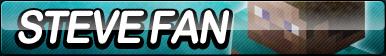 Steve (Minecraft) Fan Button