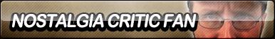 Nostalgia Critic Fan Button by ButtonsMaker