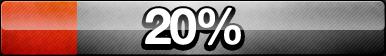 20% Progress Button by ButtonsMaker