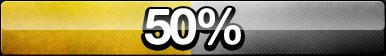 50% Progress Button by ButtonsMaker