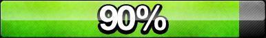 90% Progress Button