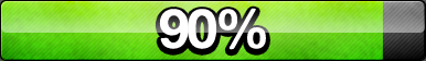 90% Progress Button by ButtonsMaker