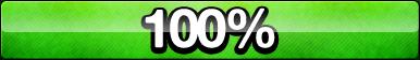 100% Progress Button