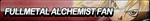 Fullmetal Alchemist Fan Button by ButtonsMaker