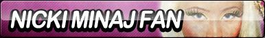 Nicki Minaj Fan Button