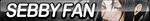 Sebby Fan Button by ButtonsMaker