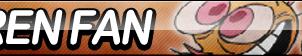 Ren Hoek Fan Button by ButtonsMaker