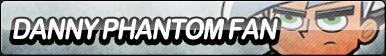Danny Phantom Fan Button