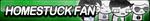 Homestuck Fan Button by ButtonsMaker
