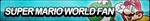 Super Mario World Fan Button by ButtonsMaker