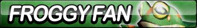 Froggy Fan Button by ButtonsMaker