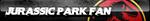 Jurassic Park Fan Button by ButtonsMaker