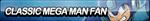 Classic Mega Man Fan Button by ButtonsMaker