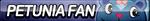 Petunia Fan Button by ButtonsMaker