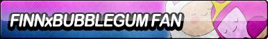 Finn X Bubblegum Fan Button
