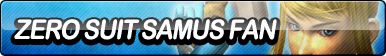 Zero Suit Samus Fan Button