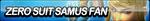 Zero Suit Samus Fan Button by ButtonsMaker