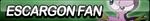Escargon Fan Button by ButtonsMaker
