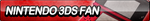Nintendo 3DS (Red) Fan Button by ButtonsMaker