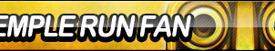 Temple Run Fan Button by ButtonsMaker