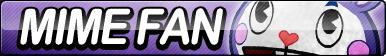 Mime Fan Button