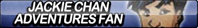 Jackie Chan Adventures Fan Button