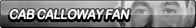 Cab Calloway Fan Button