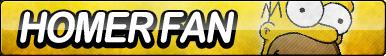 Homer Fan Button by ButtonsMaker