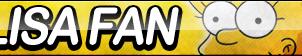 Lisa Fan Button by ButtonsMaker