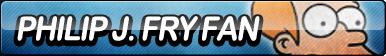 Philip J. Fry Fan Button by ButtonsMaker