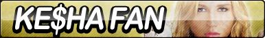 Kesha Fan Button