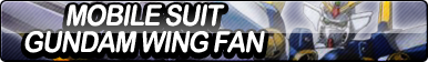 Mobile Suit Gundam Wing Fan Button by ButtonsMaker