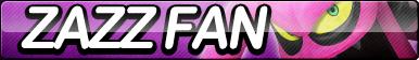 Zazz Fan Button by ButtonsMaker