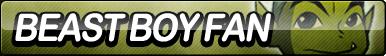 Beast Boy Fan Button
