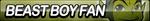 Beast Boy Fan Button by ButtonsMaker