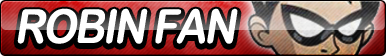 Robin (Teen Titans) Fan Button by ButtonsMaker