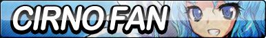 Cirno Fan Button