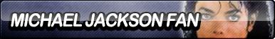 Michael Jackson Fan Button