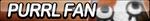 Purrl Fan Button by ButtonsMaker