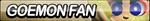 Goemon Fan Button by ButtonsMaker