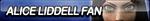 Alice Liddell Fan Button by ButtonsMaker