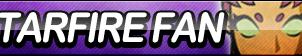 Starfire (Teen Titans) Fan Button by ButtonsMaker